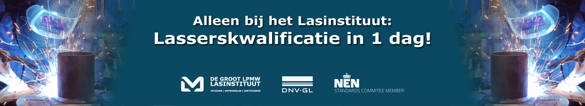 Banner website Lasserskwalificatie in 1 dag